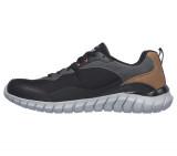 Pantofi Skechers Overhaul Betley, talpa din spuma cu memorie, culoare neagra