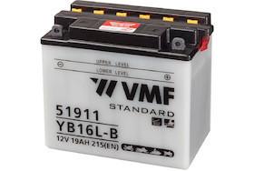 Baterie moto AGM VMF Powersport YB16L-B , capacitate 12V   19Ah