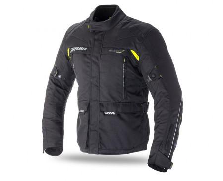Geaca moto Seventy vara/iarna model SD-JT41 culoare: negru/galben fluor
