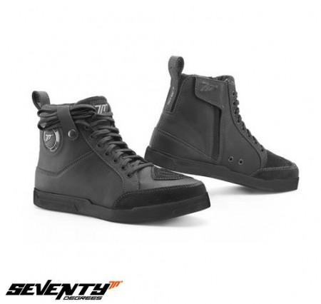 Ghete moto Urban Unisex Seventy model SD-BC7 culoare: negru