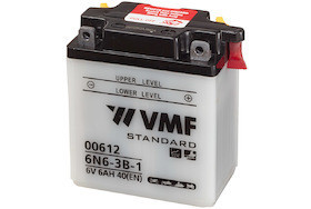 Baterie moto 6V   6Ah tip AGM marca VMF Powersport 6N6-3B-1.
