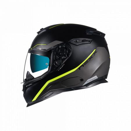 Casca moto Nexx SX.100 Skyway Black/Neon