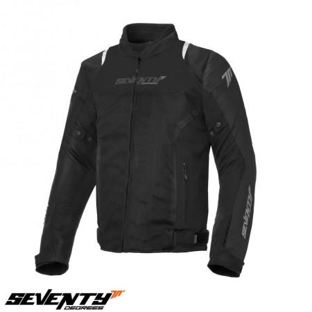 Geaca moto barbati Racing vara Seventy model SD-JR48 negru