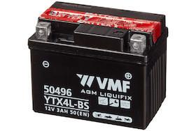 Baterie moto 12V   3AH VMF Powersport MF YTX4L-BS