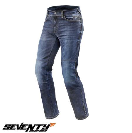 Blugi (jeans) moto femei Seventy model SD-PJ4 tip Regular fit (cu insertii Aramid Kevlar)