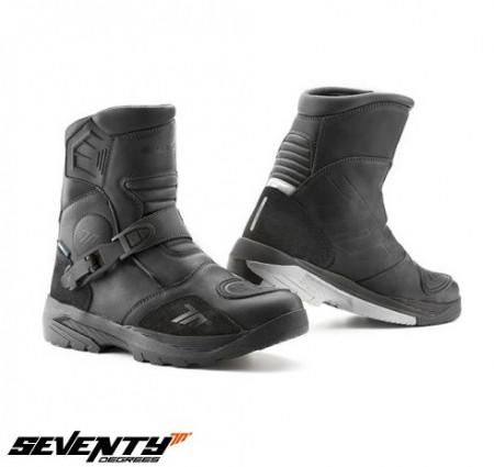 Ghete moto Adventure Unisex Seventy model SD-BA5