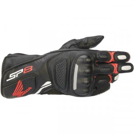 Manusi de piele sport/touring Alpinestars SP-8 V2 Honda Edition