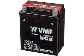 Baterie moto AGM tip YTX7L-BS, capacitate 12V | 6Ah .