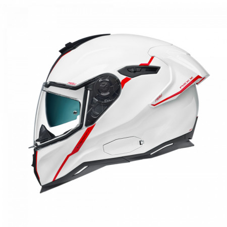 Casca moto integrala Nexx SX.100R Shortcut White/Red