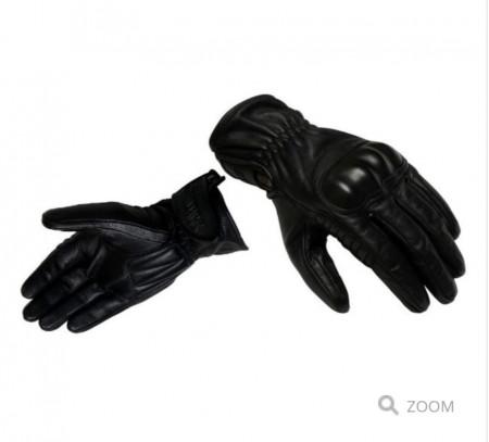 Manusi barbati piele Unik Racing model C-66 vintage culoare: negru