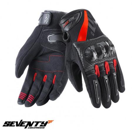Manusi barbati Racing/Naked vara Seventy model SD-N14 – degete tactile