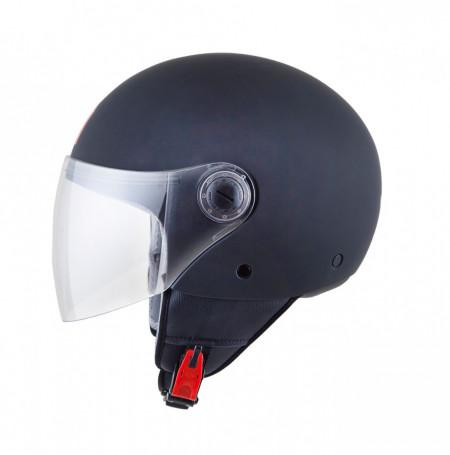 Casca open face motociclete MT Street negru mat