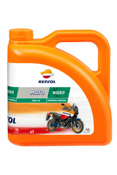 Ulei Repsol Moto Rider 4T 10W40 4 L