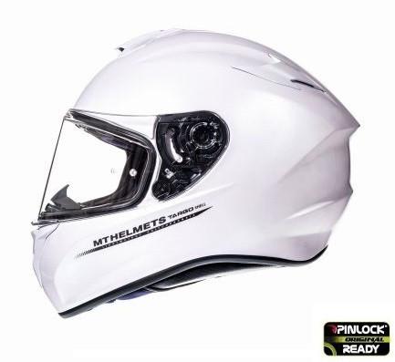 Casca MT Targo Solid A0 alb