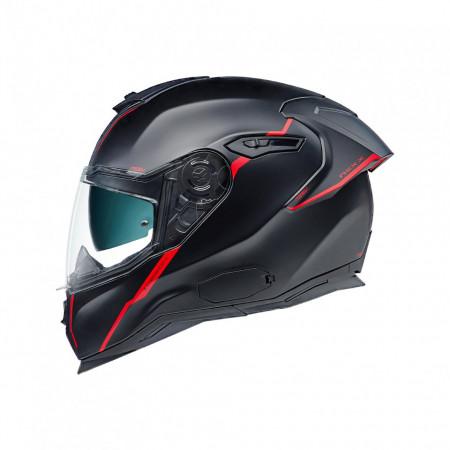 Casca moto integrala Nexx SX.100R Shortcut Black/Red