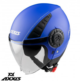 Casca Axxis model Metro A7 albastru mat (open face)