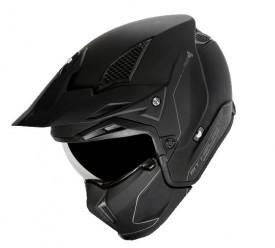 Casca moto ATV MT Streetfighter SV solid A1 negru mat