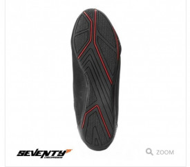 Ghete moto Urban Unisex Seventy model SD-BC6 culoare: negru