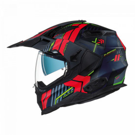 Casca moto Adventure X.Wed2 Wild Country Black / Red MT