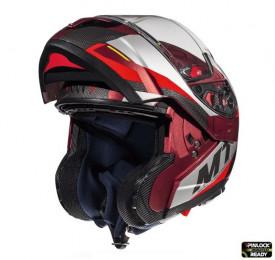Casca moto flip-up MT Atom SV TRANSCEND F5