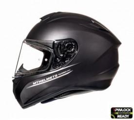 Casca moto integrala motociclete MT Targo solid A1 negru mat