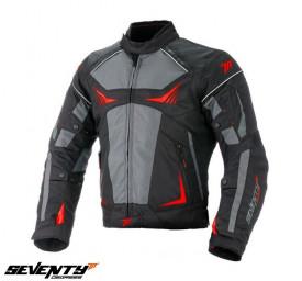 Geaca (jacheta) motociclete barbati Racing Seventy vara/iarna model SD-JR55 rosu