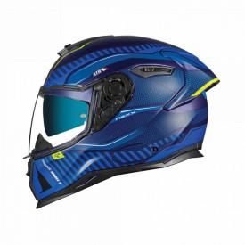 Casca moto Nexx SX.100R Skidder Blue