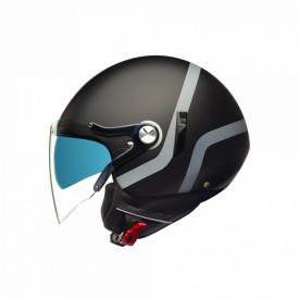Casca open face Nexx SX.60 Vice Black / Grey