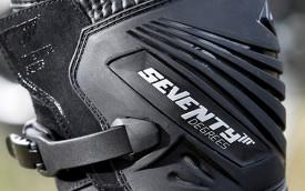 Ghete (cizme) moto Adventure Unisex Seventy negru SD BA4