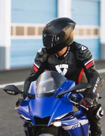 Casca moto integrala Nexx SX.100R Fullblack