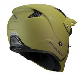 Casca MT Streetfighter SV solid A6 verde mat (ochelari soare integrati)