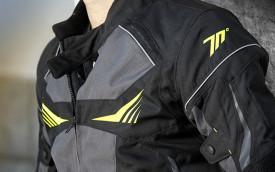 Geaca (jacheta) motociclete barbati Racing Seventy vara/iarna model SD-JR55 culoare: negru/galben fluor