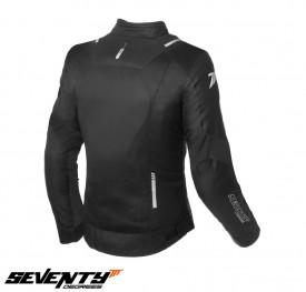Geaca moto (jacheta) dama Racing vara Seventy SD-JR54 negru