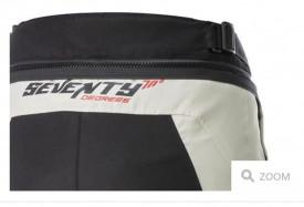Pantaloni motociclete Touring unisex Seventy vara/iarna model SD-PT1 culoare: negru/gri