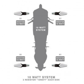 Rezistente electrice 10w Barracuda