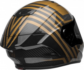 Casca moto integrala BELL RACESTAR DLX GOLD