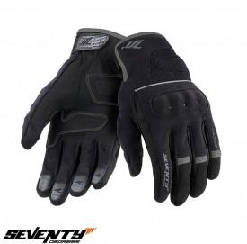Manusi femei Urban vara Seventy model SD-C56 – degete tactile negru / gri