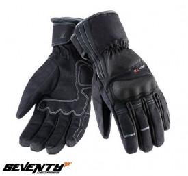 Manusi moto Touring iarna Seventy model SD-T5 negru WinterTex