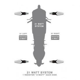 Rezistor electric 21w Barracuda