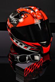 Casca moto MT KRE Snake Carbon Hawkers A0 100% carbon (ochelari soare Hawkers cadou) – editie limitata