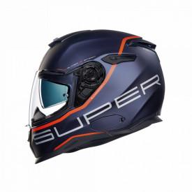 Casca moto Nexx SX.100 Superspeed Blue/Red