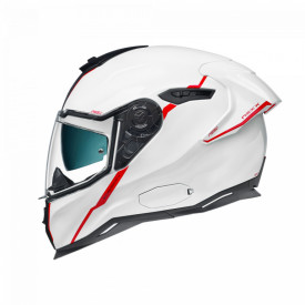 Casca moto Nexx SX.100R Shortcut White/Red