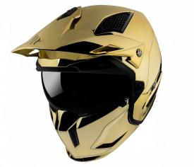 Casca MT Streetfighter SV A9 auriu cromat lucios - editie speciala