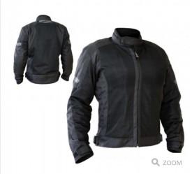 Geaca (jacheta) motociclete femei Touring Unik Racing model VZ-06 culoare: negru