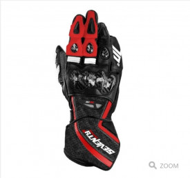 Manusi barbati racing vara Seventy model SD-R2 negru/rosu