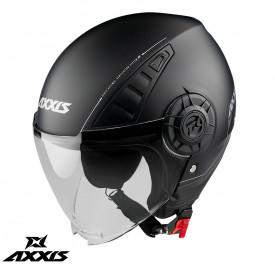 Casca Axxis model Metro A1 negru mat (open face)