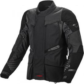 Geaca moto touring Macna Fusor textil negru