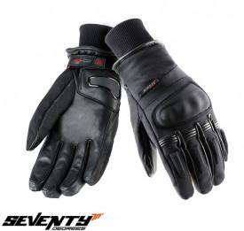 Manusi barbati iarna Seventy model SD-C9 negru – WinterTex – degete tactile