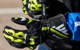Manusi barbati racing vara Seventy model SD-R12 negru / verde