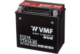 Baterie moto 12V | 12AH VMF Powersport MF YTX14-BS